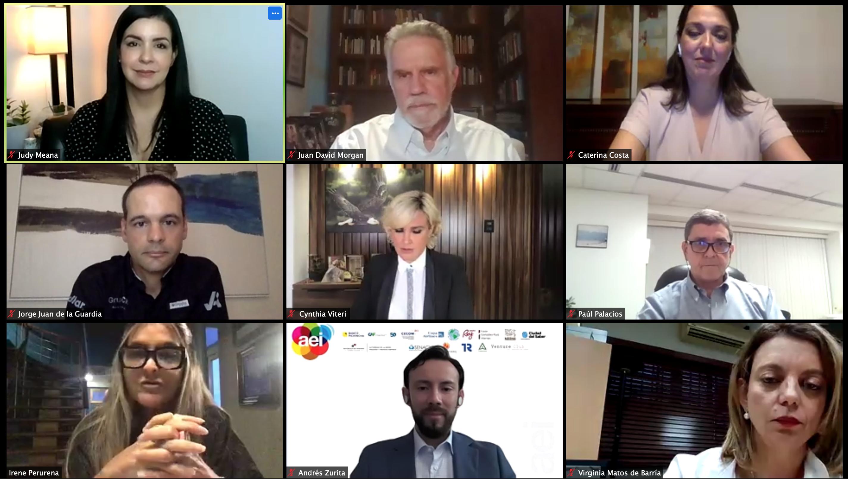 Conversatorio Aprendizajes de Guayaquil ante la crisis por COVID-19