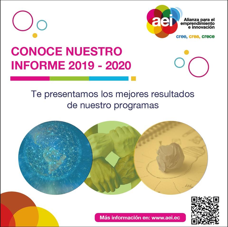 Informe de Actividades AEI 2019 – 2020