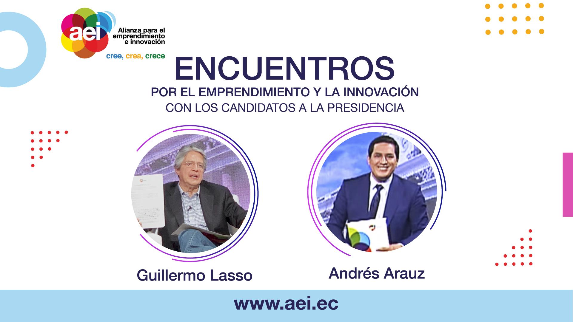 Encuentros de Emprendimiento e Innovación con los candidatos a la presidencia