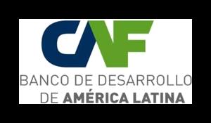 Logo Banco de Desarrollo de América Latina CAF