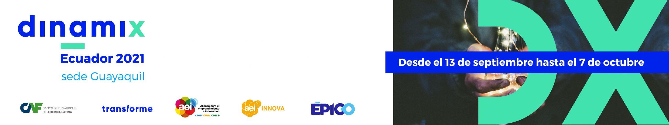 Innova con tu empresa con el programa Dinamix Ecuador