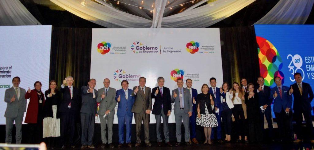El 4 de agosto de 2021 realizamos el evento de presentación de la Estrategia Ecuador Emprendedor, Innovador y Sostenible (EEIS) 2030.