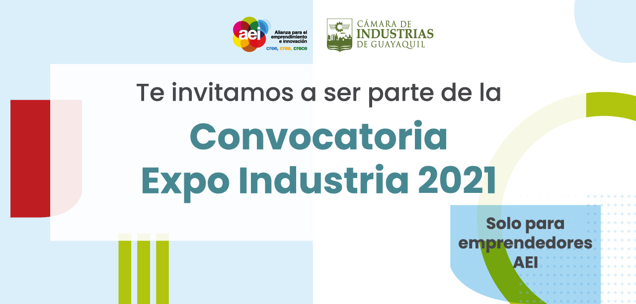 Convocatoria Expo Industria 2021